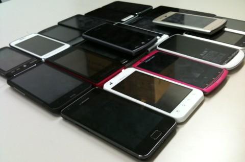 スマートフォン検証端末1